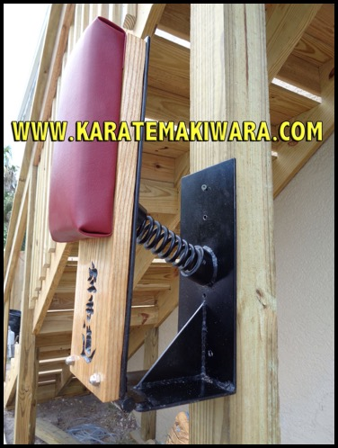 Wall Mounted Makiwara 1b
